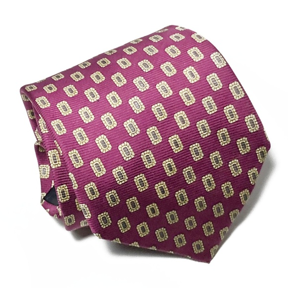 Brooks Brothers Other - Brooks Brothers Makers All Silk Foulard Tie